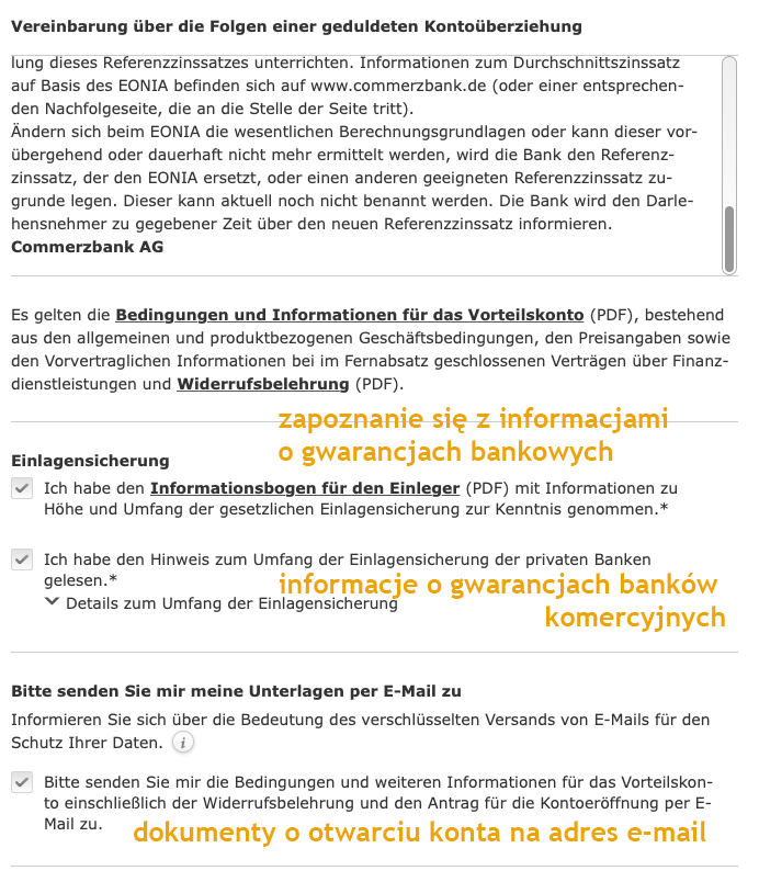 Commerzbank w Niemczech dla Polaków