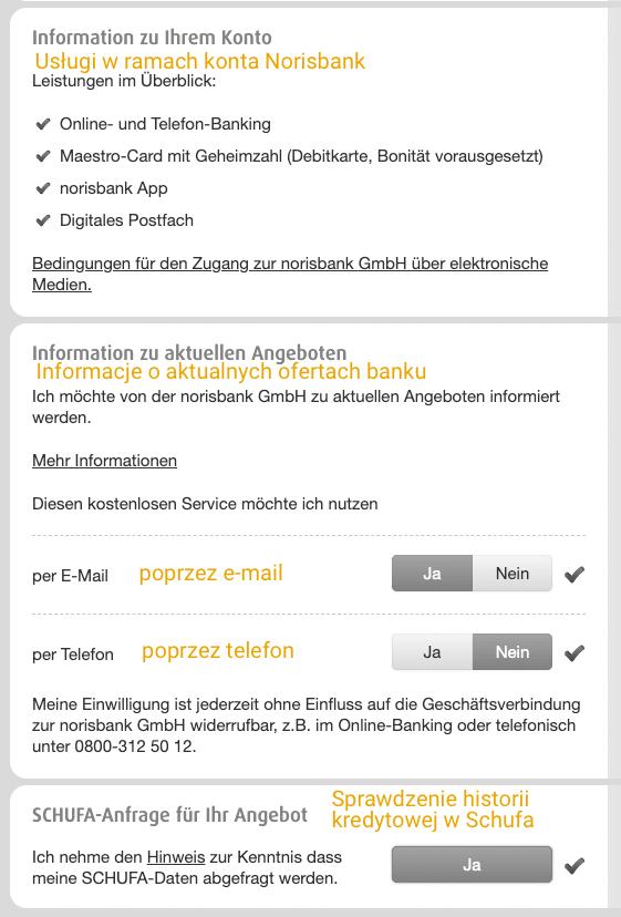 Norisbank oferta kont bankowych w Niemczech