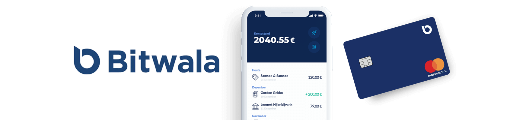 Bitwala bank account with cryptocurrencies in Germany