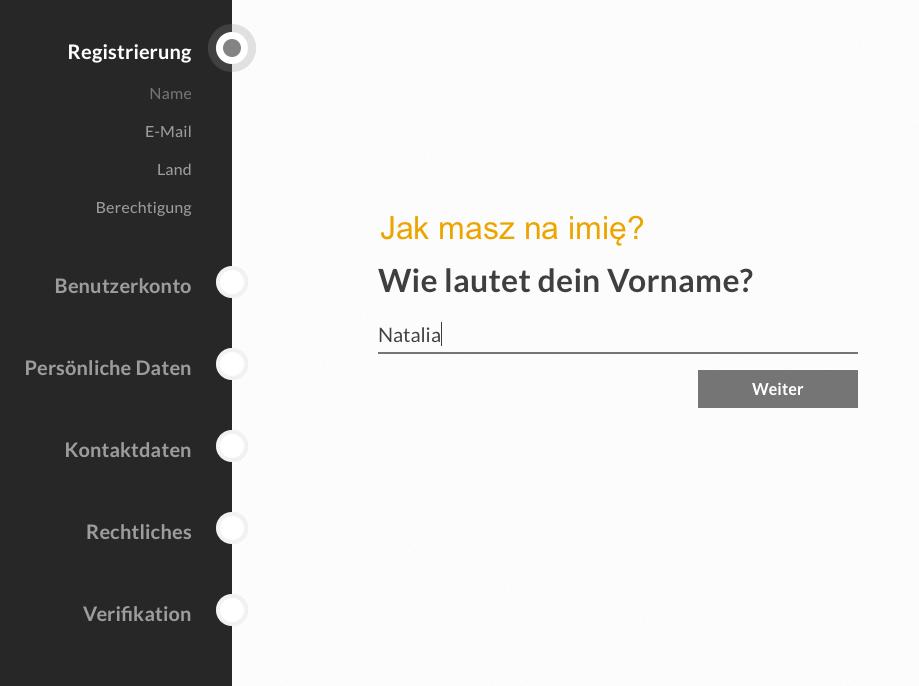 Bitwala w Niemczech otwarcie konta