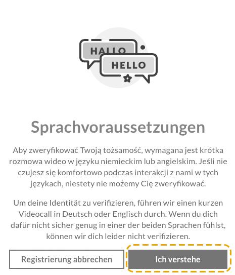 Wniosek o otwarcie konta w Niemczech