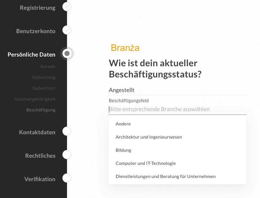 Bitwala konto niemieckie przez internet
