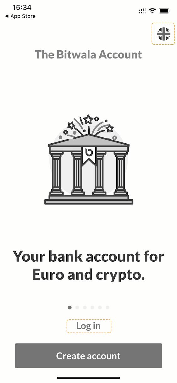 Solarisbank konto Bitwala