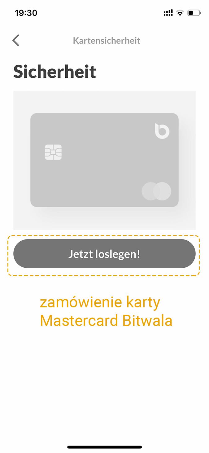Karta Bitwala Mastercard