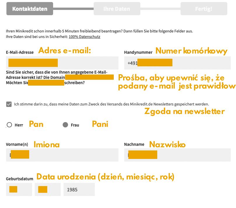 Jak otrzymać pożyczkę w Niemczech?