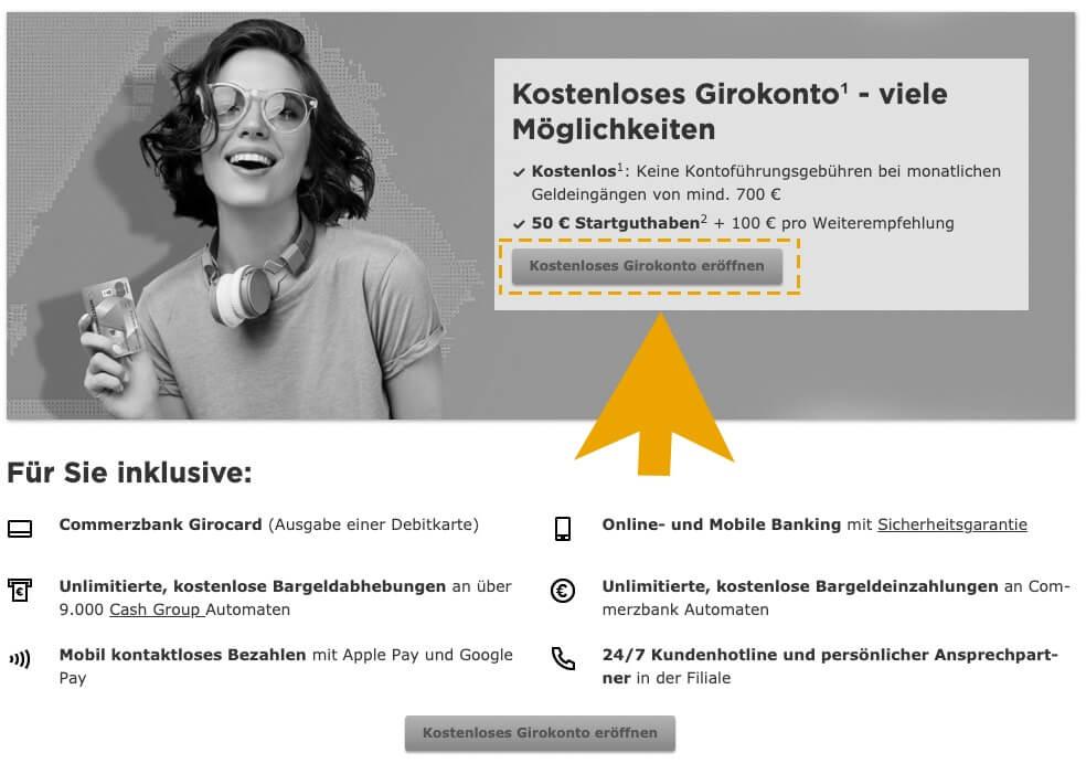 Commerzbank jak otworzyć konto