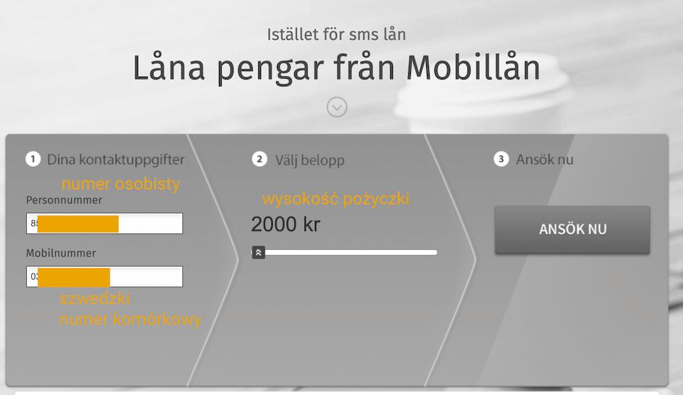 Minipożyczki Szwecja