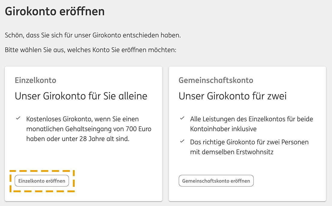 Otwarcie konta ING w Niemczech